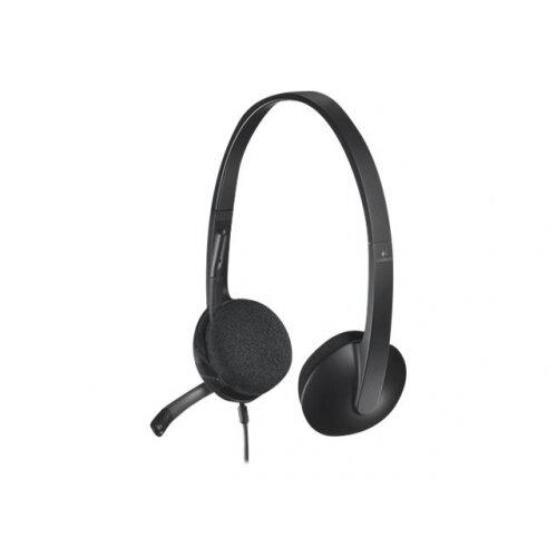 Logitech USB Headset H340 - Headset - on-ear - wired