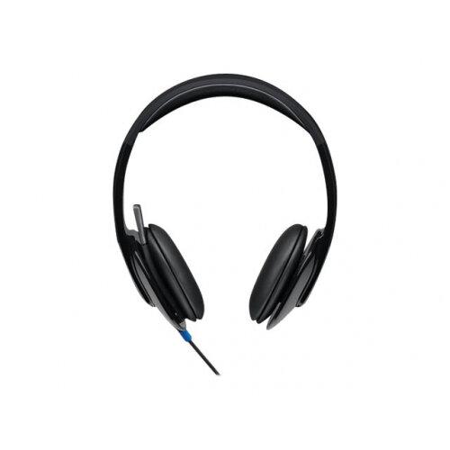 Logitech USB Headset H540 - Headset - on-ear - wired
