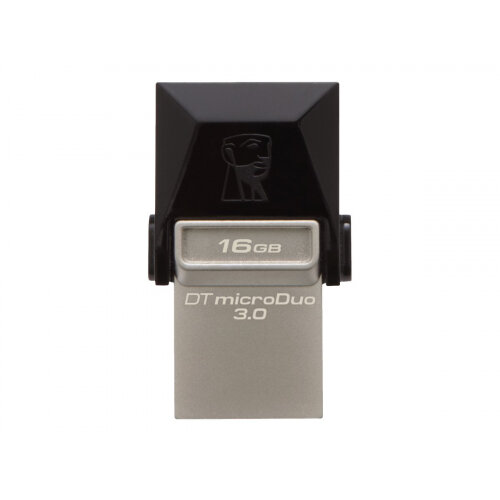 Kingston DataTraveler microDuo - USB flash drive - 16 GB - USB 3.0