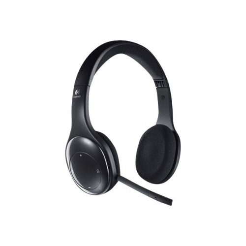 Logitech Wireless Headset H800 - Headset - on-ear - 2.4 GHz - wireless