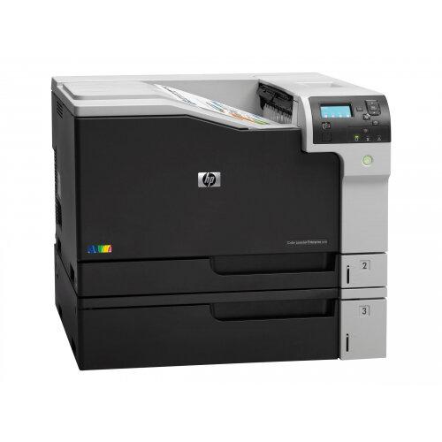 HP Color LaserJet Enterprise M750n - Printer - colour - laser - A3/Ledger - 600 x 600 dpi - up to 30 ppm (mono) / up to 30 ppm (colour) - capacity: 850 sheets - USB 2.0, Gigabit LAN, USB host, USB host (internal)