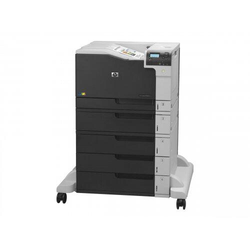 HP Color LaserJet Enterprise M750xh - Printer - colour - Duplex - laser - A3/Ledger - 600 x 600 dpi - up to 30 ppm (mono) / up to 30 ppm (colour) - capacity: 2350 sheets - USB 2.0, Gigabit LAN, USB host, USB host (internal)