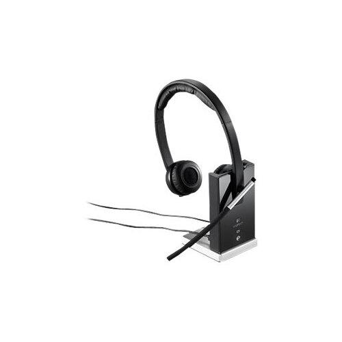 Logitech Wireless Headset Dual H820e - Headset - on-ear - DECT - wireless