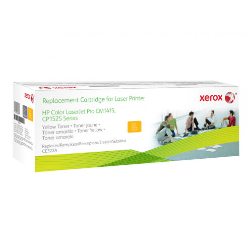 Xerox HP Colour LaserJet CM1525 - Yellow - toner cartridge (alternative for: HP 128A) - for HP Color LaserJet Pro CP1525n, CP1525nw; LaserJet Pro CM1415fn, CM1415fnw