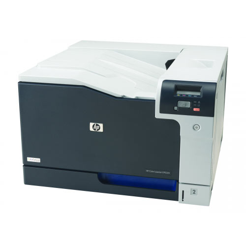 HP Color LaserJet Professional CP5225n - Printer - colour - laser - A3 - 600 dpi - up to 20 ppm (mono) / up to 20 ppm (colour) - capacity: 350 sheets - USB, LAN