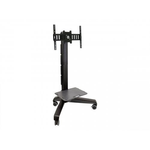 "Ergotron Neo-Flex Mobile MediaCenter LD - Cart for LCD display - black - screen size: 27""-40"""