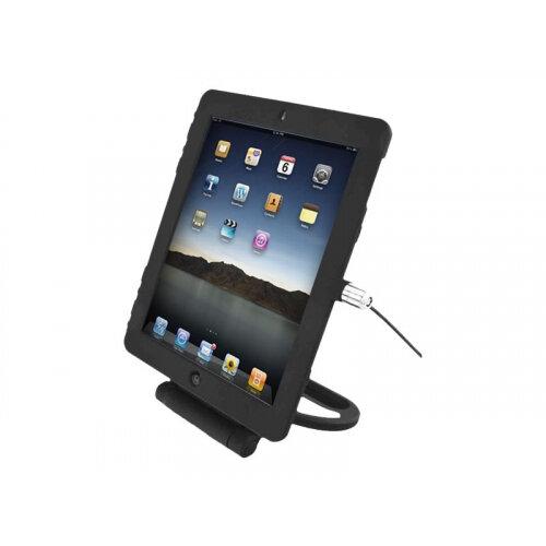 """Compulocks iPad 9.7"""" Rotating Security Plastic Case - Keyed Cable Lock - Black - Security kit - black - for Apple iPad Air; iPad Air 2"""
