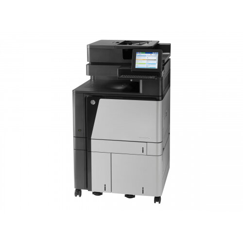 HP LaserJet Enterprise Flow MFP M880z+ - Multifunction printer - colour - laser - A3 (297 x 420 mm), Ledger (279 x 432 mm) (original) - A3 (media) - up to 46 ppm (printing) - 4100 sheets - 33.6 Kbps - USB 2.0, Gigabit LAN, USB host, USB host (internal)