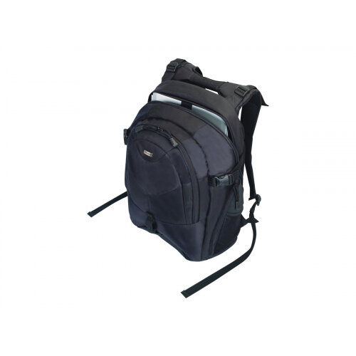 "Targus 15.4 - 16 inch / 39.1 - 40.6cm Campus Laptop Backpack - Notebook carrying backpack - 16"" - black"
