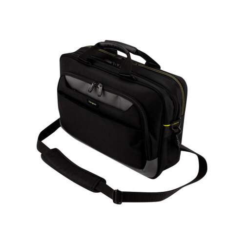 "Targus CityGear 15-17.3"" Slim Topload Laptop Case - Notebook carrying case - Laptop Bag - 15.6"" - 17.3"" - black"