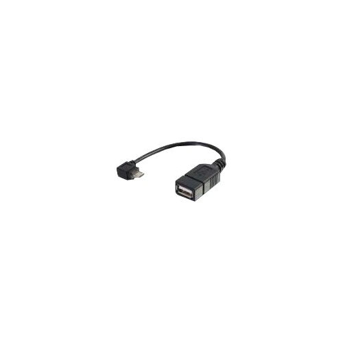 C2G Mobile Device USB Micro-B to USB Device OTG Adapter Cable - USB adapter - USB (M) to Micro-USB Type B (F) - 15 cm - black