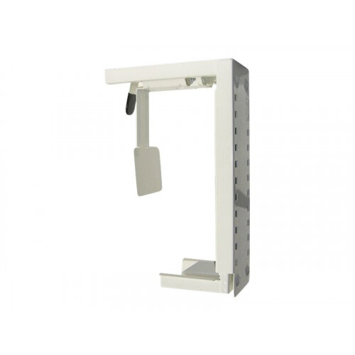 NewStar Under Desk &On-Wall PC Mount (Suitable PC Dimensions -  Height: 30-53 cm / Width: 8-22 cm) - White - System unit holder - under-desk mountable - white