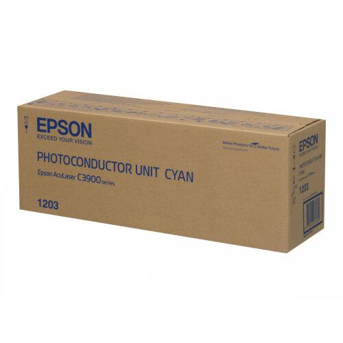 Epson - Cyan - photoconductor unit - for Epson AL-C300; AcuLaser C3900, CX37; WorkForce AL-C300