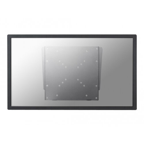"NewStar TV/Monitor Ultrathin Wall Mount (fixed) for 10""-40"" Screen - Silver - Wall mount for LCD display - silver - screen size: 10""-40"""