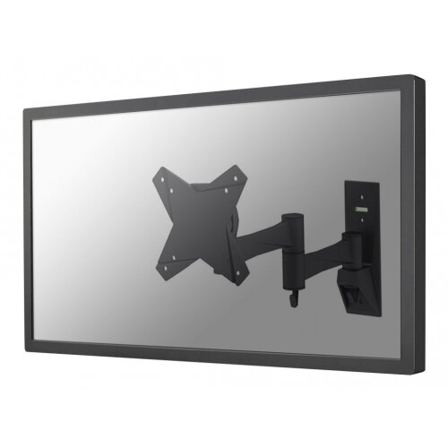 "NewStar TV/Monitor Wall Mount (Full Motion) for 10""-30"" Screen - Black - Adjustable arm for LCD TV (Tilt &Swivel) - black - screen size: 10""-30"" - wall-mountable"