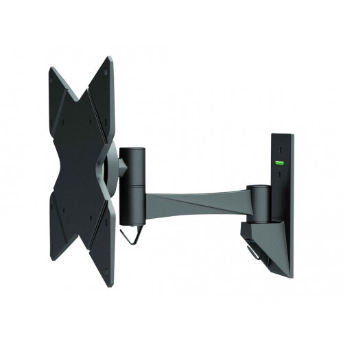 """NewStar TV/Monitor Wall Mount (2 pivots &tiltable) for 10""""-40"""" Screen - Black - Adjustable arm for LCD display - black - screen size: 10""""-40"""" - wall-mountable"""
