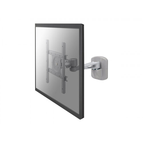 """NewStar TV/Monitor Wall Mount (2 pivots &tiltable) for 10""""-40"""" Screen - Silver - Wall mount for LCD display - silver - screen size: 10""""-40"""""""