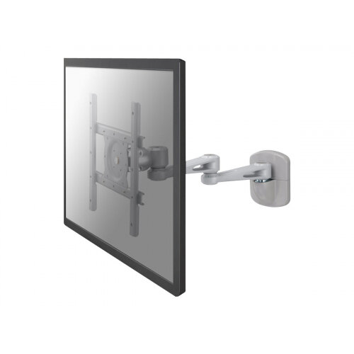 """NewStar TV/Monitor Wall Mount (Full Motion) for 10""""-40"""" Screen - Silver - Wall mount for LCD display - silver - screen size: 10""""-40"""""""