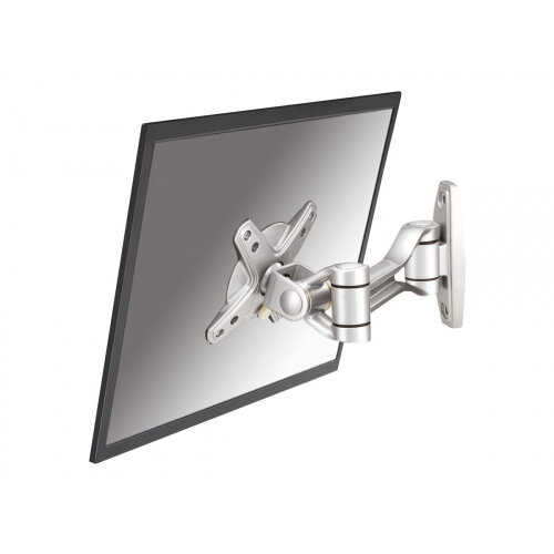 """NewStar TV/Monitor Wall Mount (2 pivots &tiltable) for 10""""-30"""" Screen - Silver - Wall mount for LCD display - silver - screen size: 10""""-30"""""""