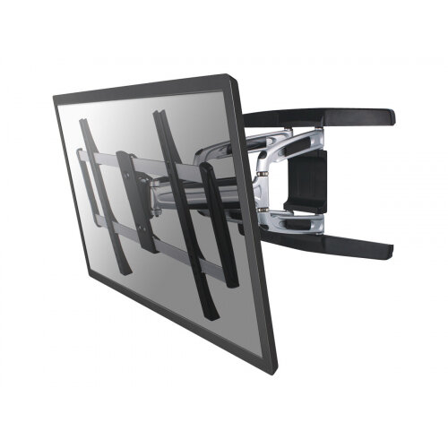 "NewStar TV/Monitor Wall Mount (Full Motion) for 32""-75"" Screen - Silver - Wall mount for LCD display - silver - screen size: 32""-75"""