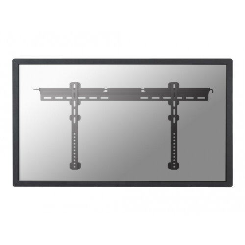 "NewStar TV/Monitor Ultrathin Wall Mount (fixed) for 37""-75"" Screen - Black - Wall mount for LCD / plasma panel - lockable - black - screen size: 37""-75"""