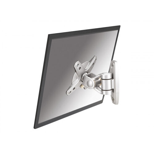 "NewStar TV/Monitor Wall Mount (2 pivots &tiltable) for 10""-30"" Screen - Silver - Wall mount for LCD display - silver - screen size: 10""-30"""