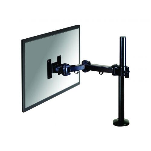 "NewStar Full Motion Desk Mount (grommet) for 10-30"" Monitor Screen, Height Adjustable - Black - Adjustable arm for LCD display - black - screen size: 10""-30"" - desk-mountable"