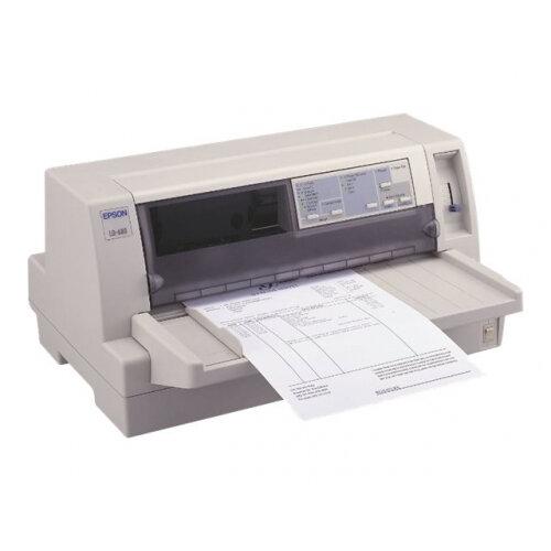 Epson LQ 680Pro - Printer - monochrome - dot-matrix - A3 - 360 x 180 dpi - 24 pin - up to 413 char/sec - parallel