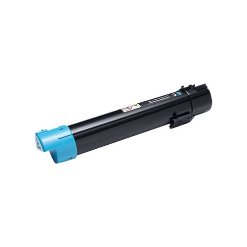 Dell - Cyan - original - toner cartridge - for Color Multifunction Printer C5765dn; Multifunction Color Laser Printer C5765dn