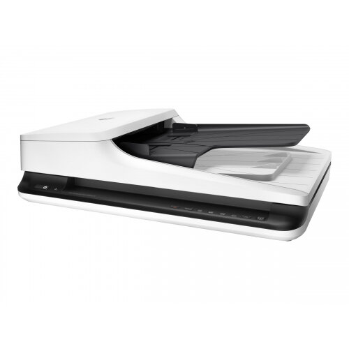 HP Scanjet Pro 2500 f1 - Document scanner - Duplex - A4/Letter - 1200 dpi x 1200 dpi - up to 20 ppm (mono) / up to 20 ppm (colour) - ADF (50 sheets) - up to 1500 scans per day - USB 2.0