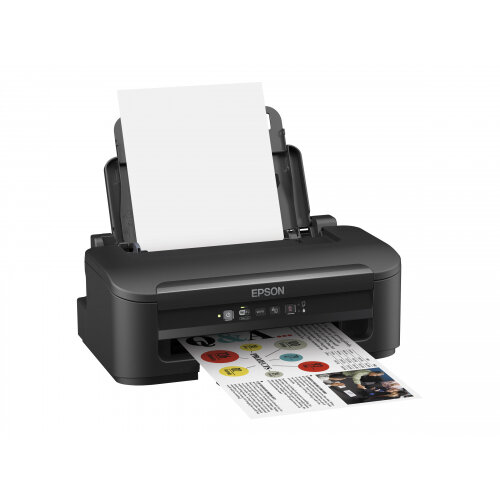 Epson WorkForce WF-2010W - Printer - colour - ink-jet - A4/Legal - 5760 x 1440 dpi - up to 34 ppm (mono) / up to 18 ppm (colour) - capacity: 100 sheets - USB, LAN, Wi-Fi(n)