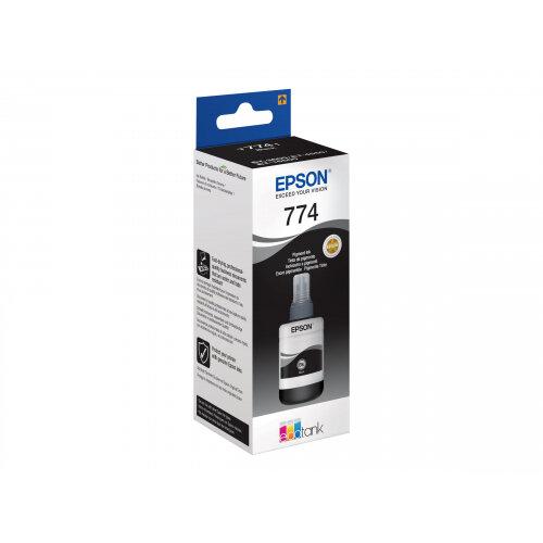Epson T7741 - 140 ml - black - ink refill - for Epson L1455, L605; EcoTank ET-16500, 3600, 4550, L1455; WorkForce ET-16500, M100, M105
