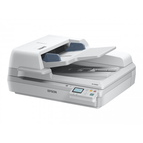 Epson WorkForce DS-60000N - Document scanner - Duplex - A3 - 600 dpi x 600 dpi - up to 40 ppm (mono) / up to 40 ppm (colour) - ADF (200 sheets) - up to 5000 scans per day - Gigabit LAN