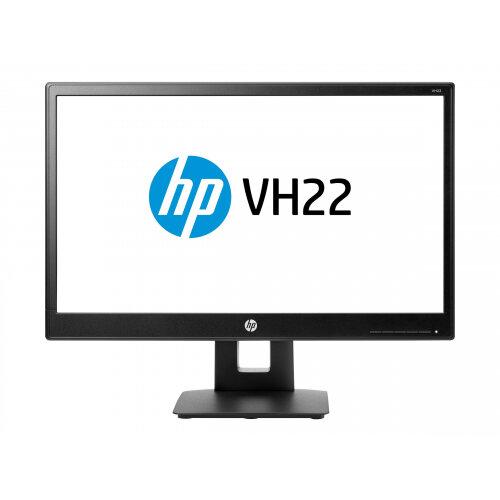 "HP vh22 - LED Computer Monitor - 21.5"" (21.5"" viewable) - 1920 x 1080 Full HD (1080p) - TN - 250 cd/m² - 1000:1 - 5 ms - DVI-D, VGA, DisplayPort - black"