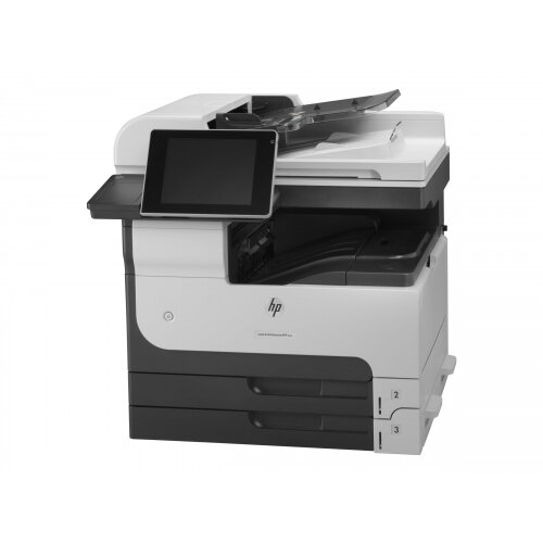 HP LaserJet Enterprise MFP M725dn - Multifunction printer - B/W - laser - A3 (297 x 420 mm) (original) - A3/Ledger (media) - up to 41 ppm (copying) - up to 41 ppm (printing) - 600 sheets - USB 2.0, Gigabit LAN, USB host, USB host (internal)