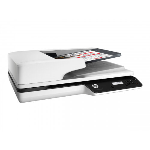 HP Scanjet Pro 3500 f1 - Document scanner - Duplex - A4/Letter - 1200 dpi x 1200 dpi - up to 25 ppm (mono) / up to 25 ppm (colour) - ADF (50 sheets) - up to 3000 scans per day - USB 3.0
