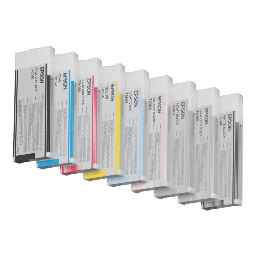 Epson T6062 - 220 ml - cyan - original - ink cartridge - for Stylus Pro 4800, Pro 4880, Pro 4880 AGFA