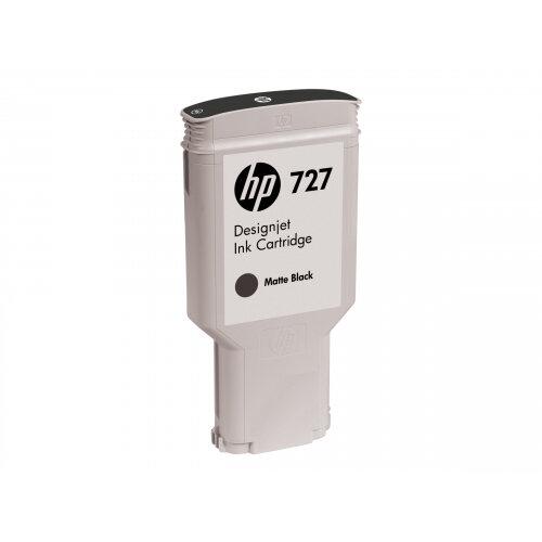 HP 727 - 300 ml - matte black - original - ink cartridge - for DesignJet T1500, T1530, T2500, T2530, T920, T930