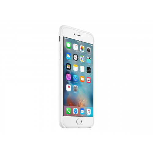 Apple - Back cover for mobile phone - silicone - white - for iPhone 6 Plus, 6s Plus