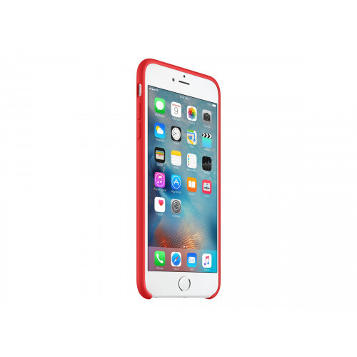 Apple (PRODUCT) RED - Back cover for mobile phone - silicone - red - for iPhone 6 Plus, 6s Plus