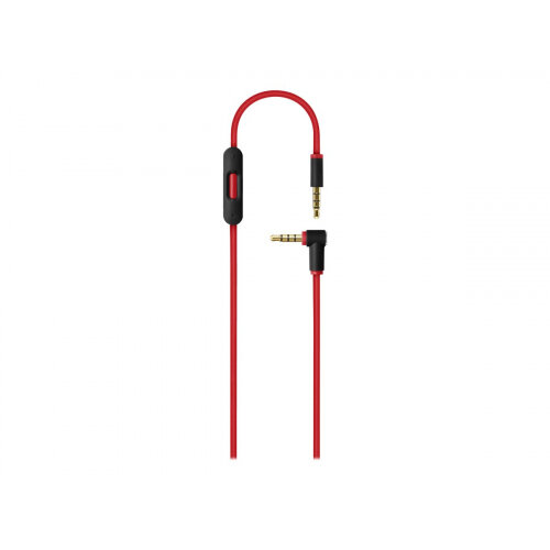 Beats Remote Talk - Headphones cable - 4-pole mini jack (M) to 4-pole mini jack (M) - red