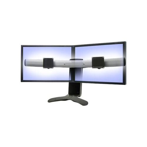 """Ergotron LX Widescreen Dual Display Lift Stand/Triple Monitor Stand - Stand for three smaller displays or two larger displays - black - screen size: up to 21"""" for 3 displays / up to 30"""" for 2 displays"""