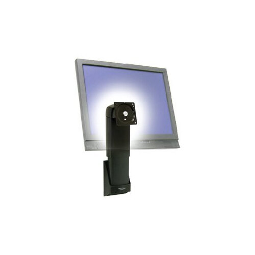Ergotron Neo-Flex Wall Mount Lift NFW05L1B - Wall mount for flat panel - black - screen size: up to 20""