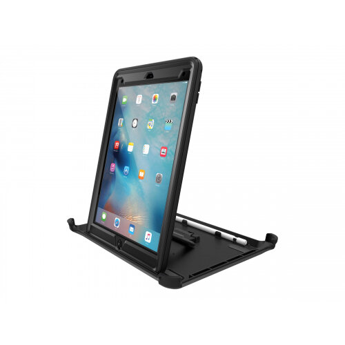 OtterBox Defender Series - Protective case for tablet - rugged - polyurethane, polycarbonate, foam, synthetic rubber - black - for Apple 9.7-inch iPad Pro