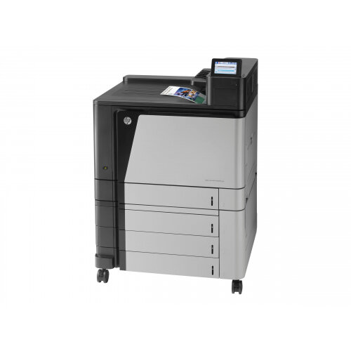 HP Color LaserJet Enterprise M855xh - Printer - colour - Duplex - laser - A3/Ledger - 1200 x 1200 dpi - up to 46 ppm (mono) / up to 46 ppm (colour) - capacity: 2100 sheets - USB 2.0, Gigabit LAN, USB host, USB host (internal)