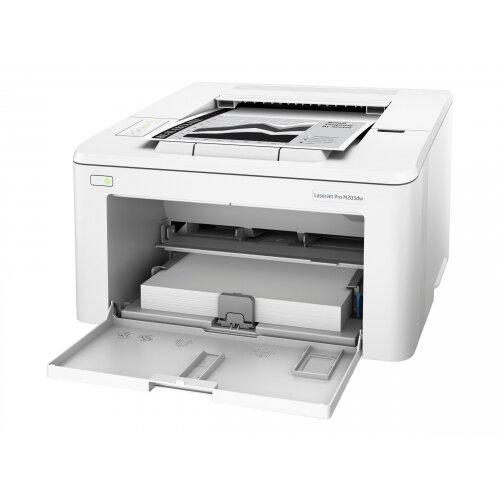 HP LaserJet Pro M203dw - Printer - monochrome - Duplex - laser - A4/Legal - 1200 x 1200 dpi - up to 28 ppm - capacity: 260 sheets - USB 2.0, LAN, Wi-Fi(n)