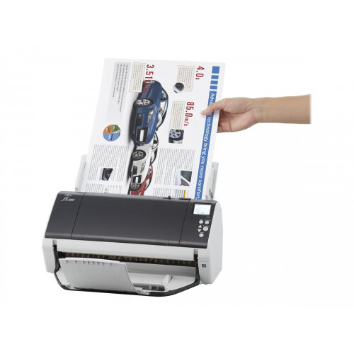 Fujitsu fi-7480 - Document scanner - Duplex - 304.8 x 431.8 mm - 600 dpi x 600 dpi - up to 160 ppm (mono) / up to 160 ppm (colour) - ADF (100 sheets) - USB 3.0