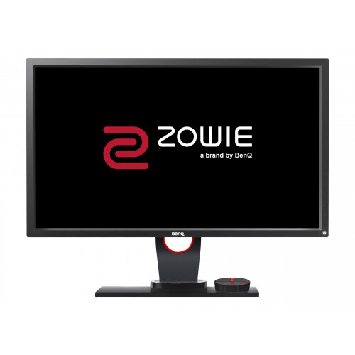 "BenQ ZOWIE XL Series XL2430 - 3D LED Computer Monitor - 24"" - 1920 x 1080 Full HD (1080p) - TN - 350 cd/m² - 1000:1 - 1 ms - 2xHDMI, DVI-D, VGA, DisplayPort - black, red"