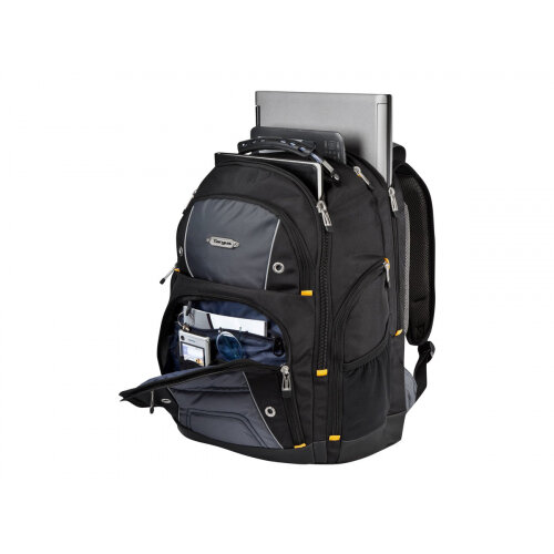 "Targus Drifter 16"" / 40.6cm Backpack - Notebook carrying backpack - 16"" - black/grey"