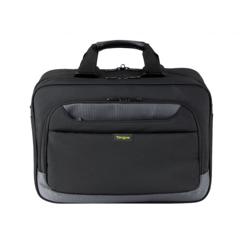 "Targus CityGear Topload Laptop Case With Printer Section - Notebook carrying case - Laptop Bag - 15.6"" - black"